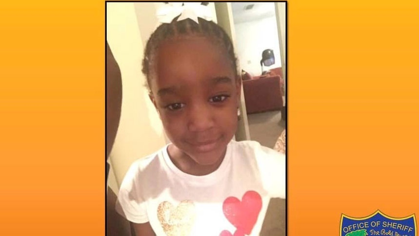 This Amber Alert made available by Jacksonville, Fla. police, shows an undated photo of Taylor Williams. (Jacksonville Police via AP)