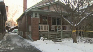 One woman is dead following a house fire in Etobicoke on Tuesday evening.