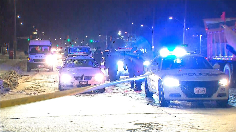 Peel police are investigating after a 79-year-old woman was struck by a vehicle in Mississauga. (CP24)
