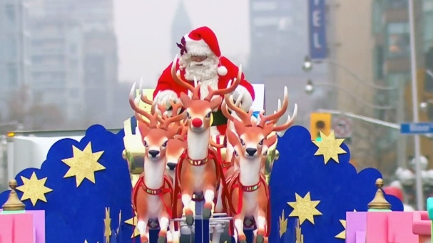Road closures for Toronto Santa Claus Parade this Sunday