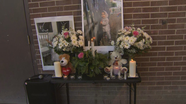 A 2-year-old girl struck and killed by a falling air conditioner is being remembered as sweet and loving. (CP24)