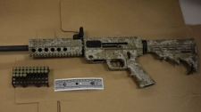 JR Carbine Glock 9 mm semi-automatic rifle