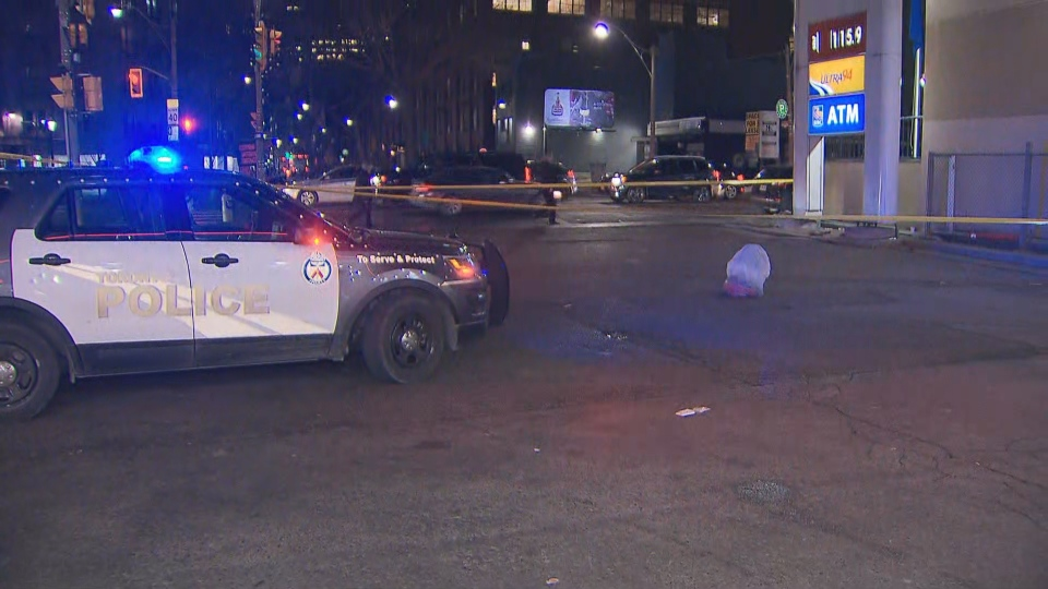 Police are investigating a stabbing downtown that sent a teenager to hospital with serious injuries. (CP24)