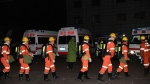 In this Nov. 18, 2019, photo released by China's Xinhua News Agency, rescuers prepare to enter a coal mine that was the site of a gas explosion in Pingyao county in northern China's Shanxi Province. Authorities in northern China say more than a dozen people were killed and others injured in a gas explosion inside a coal mine on Monday afternoon. (Yang Chenguang/Xinhua via AP)In this Nov. 18, 2019, photo released by China's Xinhua News Agency, rescuers prepare to enter a coal mine that was the site of a gas explosion in Pingyao county in northern China's Shanxi Province. Authorities in northern China say more than a dozen people were killed and others injured in a gas explosion inside a coal mine on Monday afternoon. (Yang Chenguang/Xinhua via AP)The Associated Press