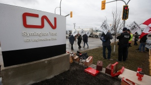 CN Rail strike