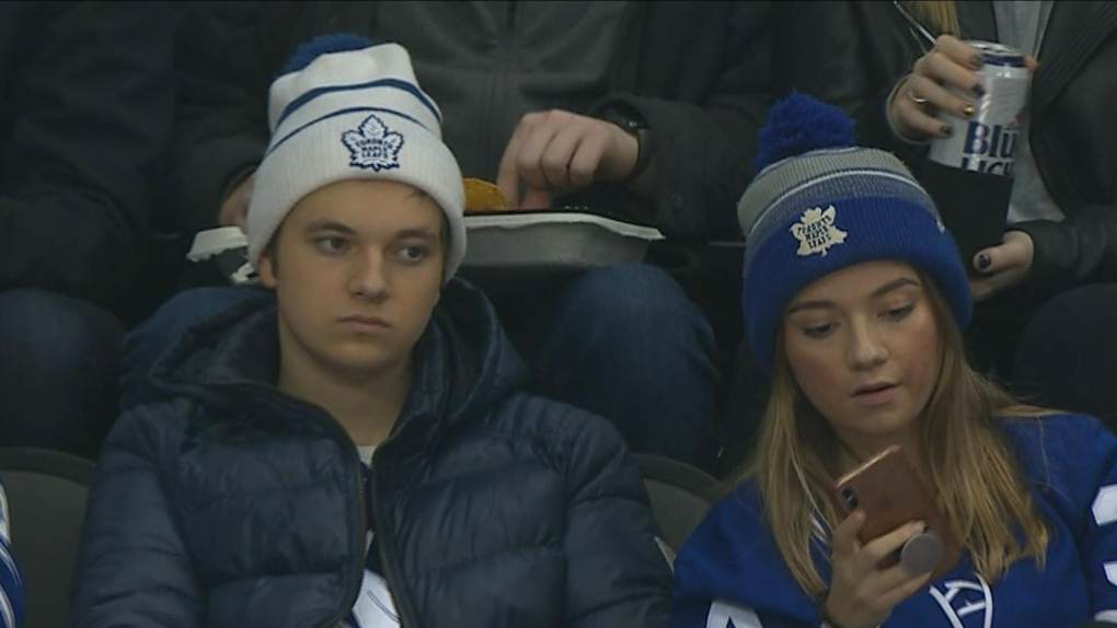 Teens Go Viral After Taking Selfie At Leafs Game Cp24 Com