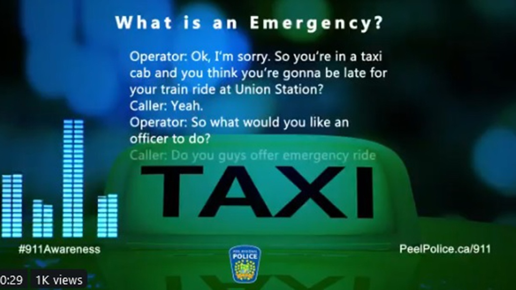'I can assure you we don't do that,' 911 dispatcher declines request for police to escort taxi