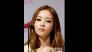 FILE - In this Tuesday, July 10, 2012 file photo, South Korea's pop girl group KARA's Goo Hara attends a press conference in Singapore. South Korean police say pop star Goo Hara has been found dead at her home in Seoul. Police say an acquaintance found the 28-year-old dead at her home in southern Seoul on Sunday, Nov. 24, 2019 and reported it to authorities. (AP Photo/Wong Maye-E, File)