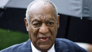 In this Sept. 25, 2018, file photo, Bill Cosby arrives for a sentencing hearing following his sexual assault conviction at the Montgomery County Courthouse in Norristown Pa. Cosby said in a phone interview Sunday, Nov. 24, 2019 with BlackPressUSA that he's prepared to serve his 10-year maximum sentence for sexual assault rather than show remorse for a crime he says he didn't commit.  (AP Photo/Matt Rourke, File)