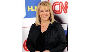 This Jan. 10, 2014 file photo shows Nancy Grace of HLN posing at the CNN Worldwide All-Star Party in Pasadena, Calif. (Photo by Chris Pizzello/Invision/AP, File)