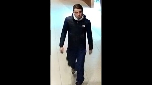 Police are trying to identify a suspect after a Canada Post worker was assaulted downtown. (Toronto Police Service handout)