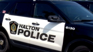 A Halton police vehicle is pictured in this file image.