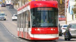A TTC streetcar is shown in this file photo.