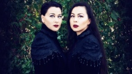 """The musical duo PIQSIQ, Inuksuk Mackay and Tiffany Ayalik, pose in this undated handout photo. The musical duo PIQSIQ is forging their own holiday tradition by covering Christmas carols in the style of Inuit throat-singing. Tiffany Ayalik and Inuksuk Mackay say """"Quviasugvik: In Search of Harmony"""" evokes the mixed emotions the season can bring. THE CANADIAN PRESS/HO, PIQSIQ,"""