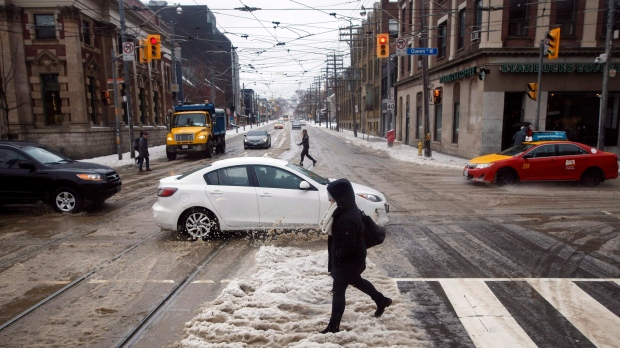 Freezing rain warning issued for London region
