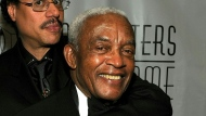Irving Burgie, pictured here in 2010, was best known as the man who helped introduce calypso music to the mainstream. (AFP)