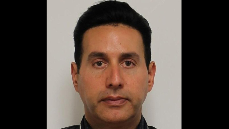 Evangelos Karayanopoulos is shown in a Toronto police handout image.