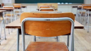 An empty classroom is seen in this undated file photo. (Source: iStock, DONGSEON_KIM)