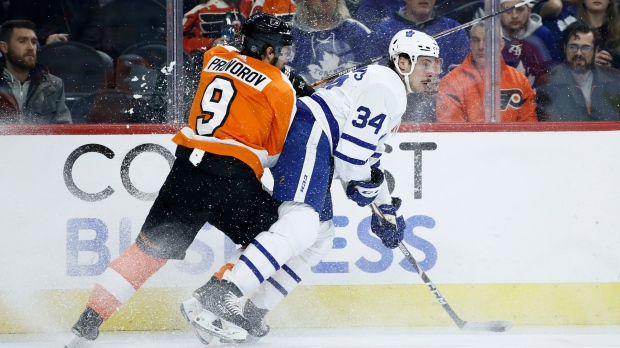 Maple Leafs 'kind of just quit' in loss, Matthews says