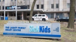 The Hospital for Sick Children in Toronto is shown on Thursday, April 5, 2018. (THE CANADIAN PRESS/Doug Ives)