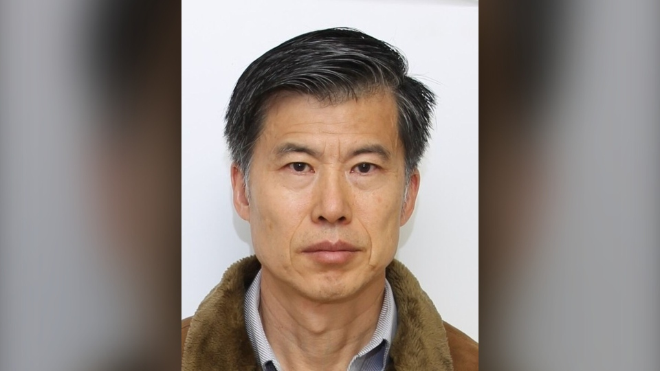 Ki-Jin Kim is pictured in this police handout photo.