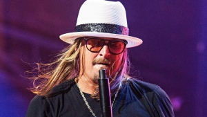 Kid Rock performs onstage at KAABOO Texas at AT&T Stadium on Saturday, May 11, 2019, in Arlington, Texas. (Photo by Amy Harris/Invision/AP)