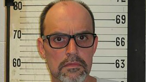 This 2017 file photo provided by the Tennessee Department of Correction shows Lee Hall, formerly known as Leroy Hall Jr. Hall, a death row inmate. Hall is scheduled to be electrocuted Thursday, Dec. 5, 2019. Hall walked onto death row nearly three decades ago with his sight, but attorneys for the 53-year-old prisoner say he's since become functionally blind due to improperly treated glaucoma. (Tennessee Department of Correction via AP)