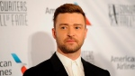 Justin Timberlake walks the red carpet at the 50th annual Songwriters Hall of Fame induction and awards ceremony at the New York Marriott Marquis Hotel on Thursday, June 13, 2019, in New York. (Photo by Brad Barket/Invision/AP)