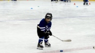 A six-minute clip of a mic'd up four-year-old Mason during a hockey practice was YouTube's second highest trending video in Canada in 2019. (YouTube/Coach Jeremy)