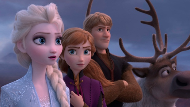'Frozen 2' stays frozen at top of box office for 3rd week