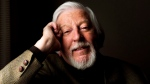 "Caroll Spinney, puppeteer behind Big Bird and Oscar the grouch poses for a photograph about the doc ""I Am Big Bird..."", in Toronto on Monday, April 28, 2014. THE CANADIAN PRESS/Nathan Denette"