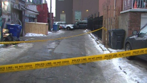 The SIU is investigating after a man was shot and injured by Toronto police downtown early Sunday. (CP24)