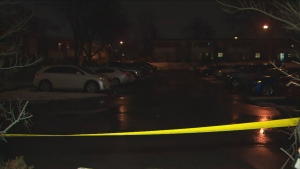 Toronto police are investigating after shots were fired at a housing complex in North York. (CP24)