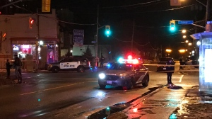 Toronto police are investigating after a man was stabbed in East York. (Michael Nguyen/ CP24)