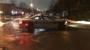 Police investigate a suspicious death near Eagleridge Drive and Bighorn Crescent in Brampton Monday December 9, 2019. (Ron Dhaliwal)