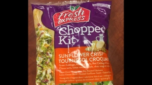 The Canadian Food Inspection Agency has issued a recall for some 315 gram Fresh Express brand Sunflower Crisp Chopped Kits.
