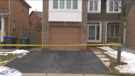 Peel Regional Police are on the scene of a homicide in Brampton.