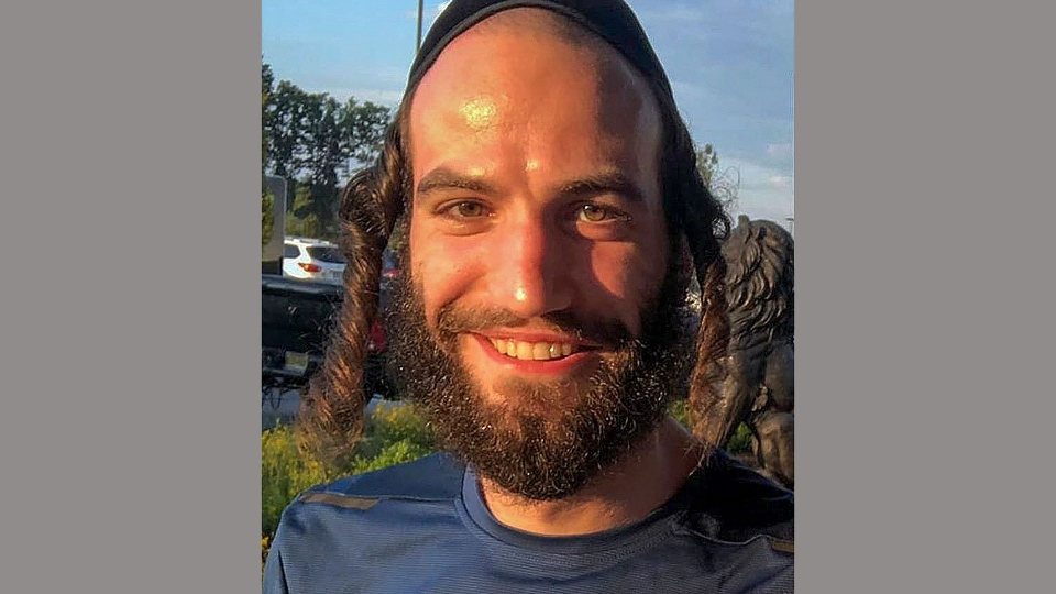 This undated photo provided by Chai Lifeline shows Moshe Deutsch, who was killed Tuesday, Dec. 10, 2019, in Jersey City, N.J. Deutsch, a 24-year-old rabbinical student from Brooklyn, was one of three civilians who died when gunmen, targeting a kosher grocery where he was shopping, opened fire. (Chai Lifeline via AP)
