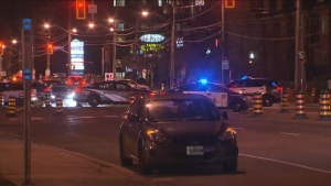 Toronto police are investigating after a pedestrian was struck by a vehicle in the area of Victoria Park Avenue and Eglinton Avenue East. (CP24)