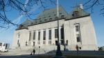 The Supreme Court of Canada is seen Friday, April 25, 2014 in Ottawa. The Supreme Court of Canada will not delve into questions about the process for disciplining federally appointed judges. (THE CANADIAN PRESS/Adrian Wyld)