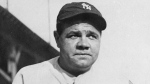 FILE - This undated file photo shows Babe Ruth. The bat used by the legendary baseball player to hit his 500th home run was auctioned on Saturday, Dec. 14, 2019 for more than $1 million. SCP Auctions didn't identify the buyer. The auction was held in Laguna Niguel, California. (AP Photo/File)