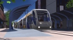 A rendering of a planned light rail transit line in Hamilton that was cancelled in 2019 is shown. The provincial and federal governments have committed $3.4 billion in funding to revive the project.