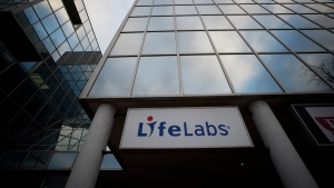 Government privacy commissioners are investigating a data breach at LifeLabs, one of Canada's largest medical services companies, after hackers gained access to the personal information of up to 15 million customers. LifeLabs signage is seen outside of one of the lab's Toronto locations, Tuesday, Dec. 17, 2019. THE CANADIAN PRESS/Cole Burston