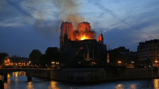 50% Chance Notre Dame Cathedral Won't Be Saved, Rector Says