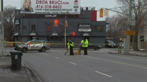 22-year-old man in critical condition after trying to jump onto back of moving van in East York