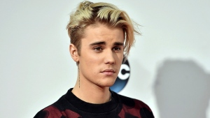 This Nov. 22, 2015 file photo shows Justin Bieber at the American Music Awards in Los Angeles. Bieber has announced he has Lyme disease. THE CANADIAN PRESS/AP-Photo by Jordan Strauss/Invision/AP, File
