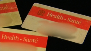 Hundreds of thousands of Ontarians will soon have to say goodbye for good to their old, red-and-white health cards. (File photo)
