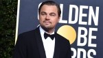 FILE - This Jan. 5, 2020 file photo shows actor and activist Leonardo DiCaprio at the 77th annual Golden Globe Awards in Beverly Hills, Calif. DiCaprio's environmental organization will donate $3 million to help the efforts toward the wildfire relief in Australia. (Photo by Jordan Strauss/Invision/AP, File)