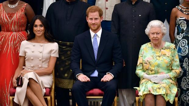 Prince Harry and Meghan,