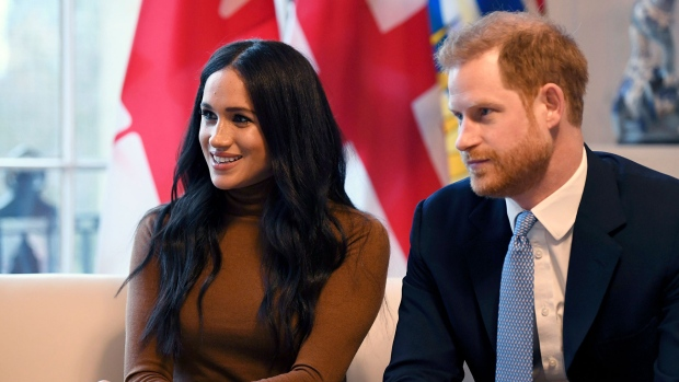 Prince Harry and Meghan,